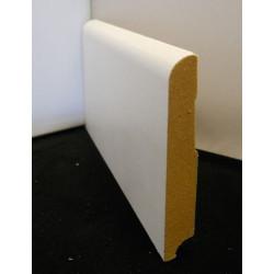 Plinthe pré peinte blanche 80 mm