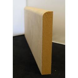Plinthe médium brut 80 mm