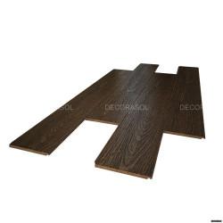 Bambou façon chêne Marron Gamay- Largeur 139 - Compatible pièces humides