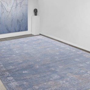 Tapis Vintage Dutch Blue
