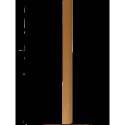 """Barre """"3 en 1"""" placage Erable: seuil- jonction et arrêt - Long.930 mm"""