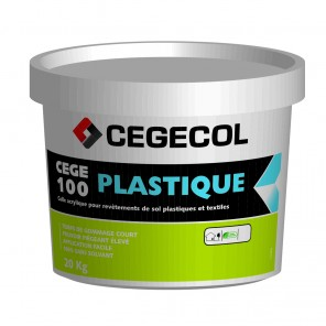 Colle Cege 100 Plastique sans solvants 20kg