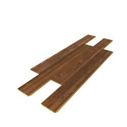 Bambou brossé teinte Caramel -Largeur 96 - Compatible pièces humides