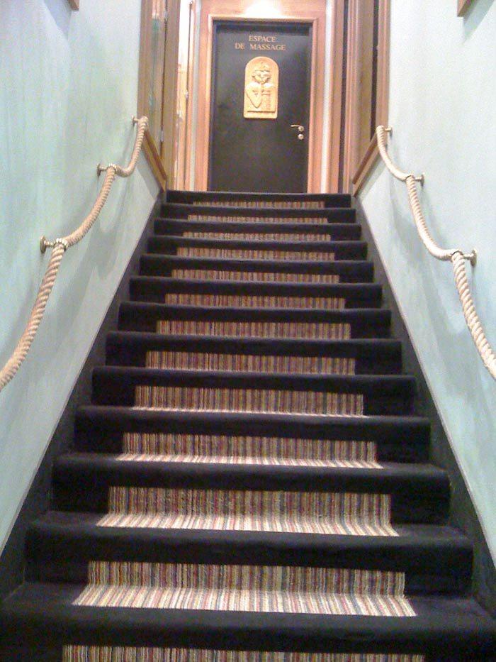 escalier jonc de mer cheap jonc de mer chambre escalier jonc de mer jonc de mer pour salle de. Black Bedroom Furniture Sets. Home Design Ideas