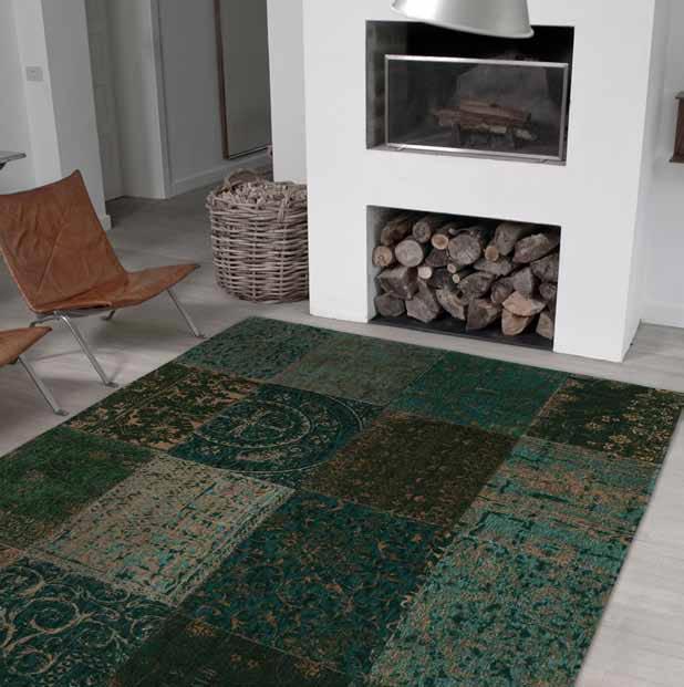 D coration mettez vous au vert le blog du sol for Tapis vert turquoise