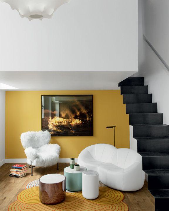 inspiration jaune moutarde le blog du sol. Black Bedroom Furniture Sets. Home Design Ideas