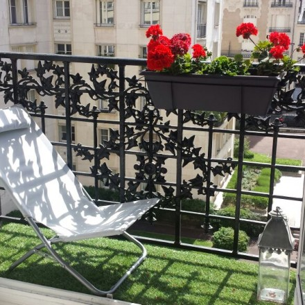 Ext rieur le blog du sol - Pose gazon synthetique balcon ...