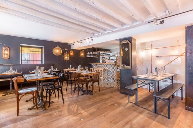 maison popeille 2 restaurants d co paris le blog du sol. Black Bedroom Furniture Sets. Home Design Ideas