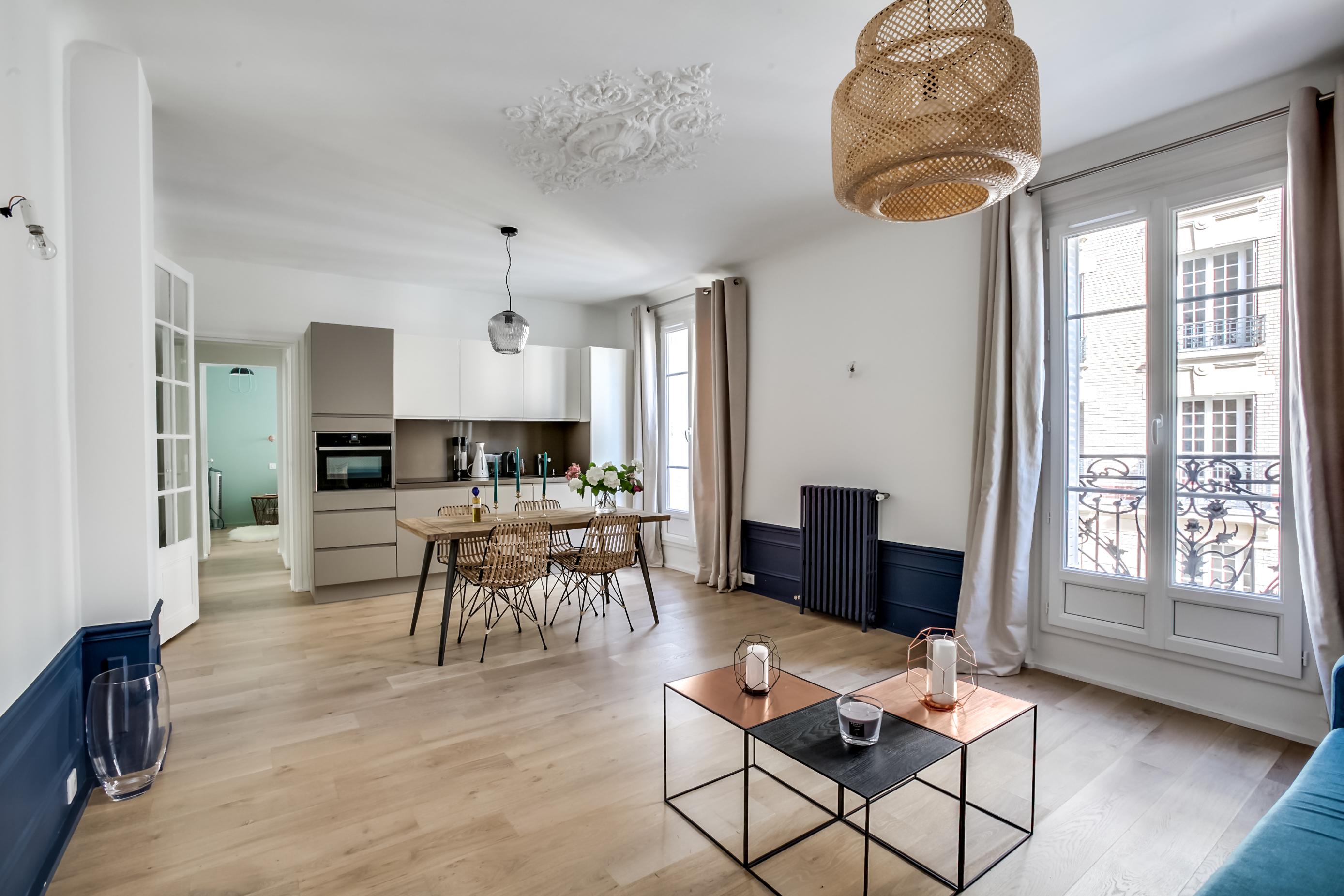 visite d un appartement parisien tendance le blog du sol
