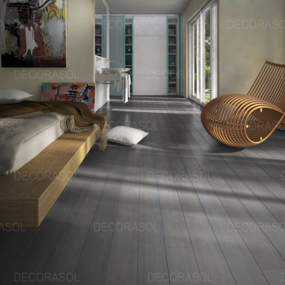 acheter parquet massif bambou bross gris clipsable. Black Bedroom Furniture Sets. Home Design Ideas