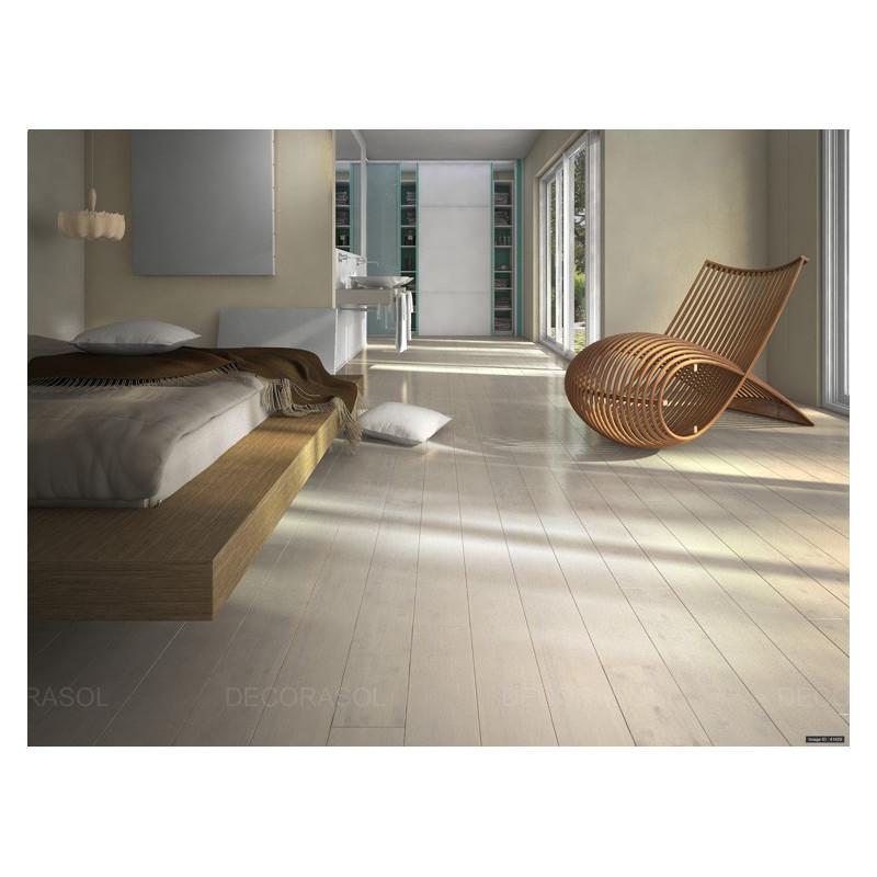 Parquet Bambou brossé Polaire - Largeur 130 - Compatible pièces humides