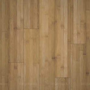 Parquet Bambou horizontal carbonisé café- Largeur 130-Clipsable