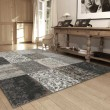Tapis Patchwork Black and White