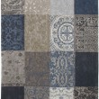 Tapis Patchwork Blue Denim