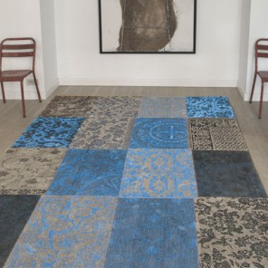 Tapis Patchwork Forget me Not