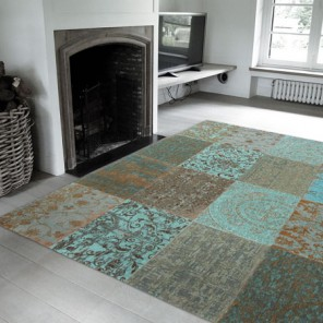 Tapis Patchwork Sea Blue