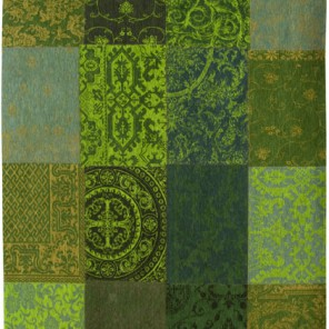 Tapis Patchwork Spring Leaves