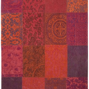 Tapis Patchwork Orange Purple