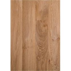 Parquet 100% Chêne - Couronne Nougat Classique - Verni - larg. 12 cm