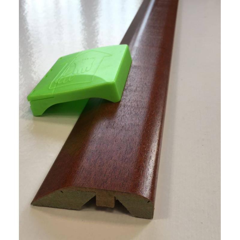 """Barre """"3 en 1"""" placage Erable: seuil- jonction et arrêt - Long.2 150 mm"""