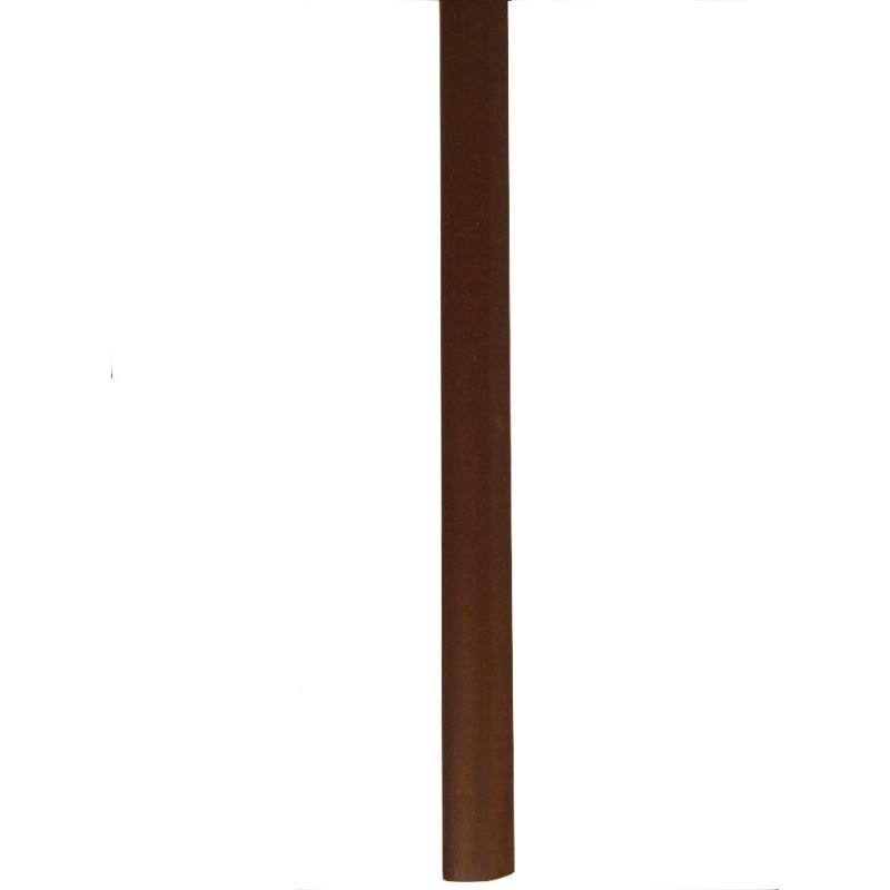 "Barre ""3 en 1"" placage Iroko : seuil- jonction et arrêt - Long.930 mm"