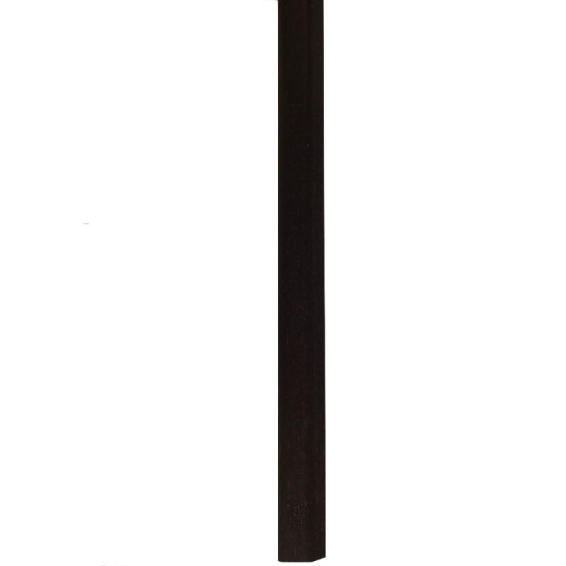 "Barre ""3 en 1"" placage Wenge : seuil- jonction et arrêt- Long. 2 150 mm"