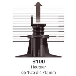 Plot réhausseur B100