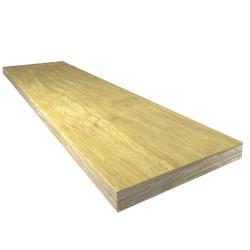 Plan de travail bambou Haute Pression naturel