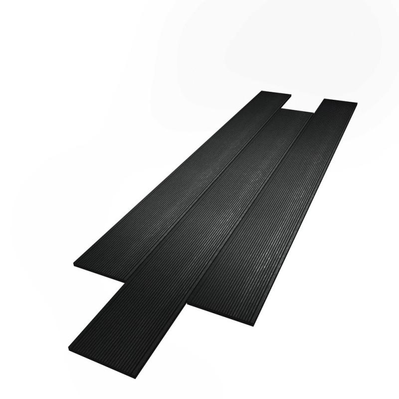 Lames composite massif Noir 14x290