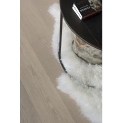 Parquet Chêne Contrecollé Clipsable - Excellence Cotton White - Huilé - larg. 19 cm