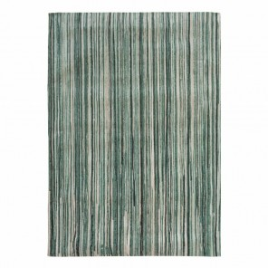 Tapis Atlantic Ocean Green Stripes 140x200