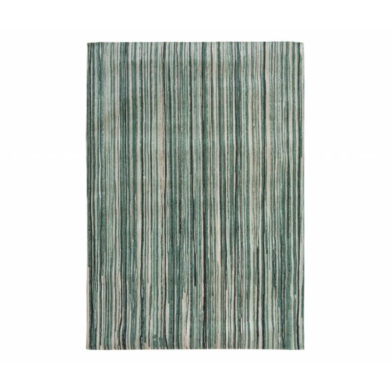 Tapis Atlantic Ocean Green Stripes 140x200