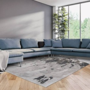 Tapis Atlantic Grey Waves 1.4x2m