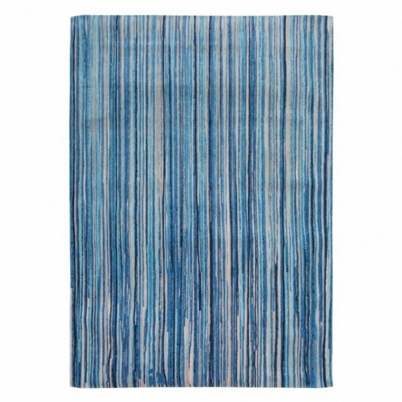 Tapis Atlantic Ocean Blue Stripes 170x240