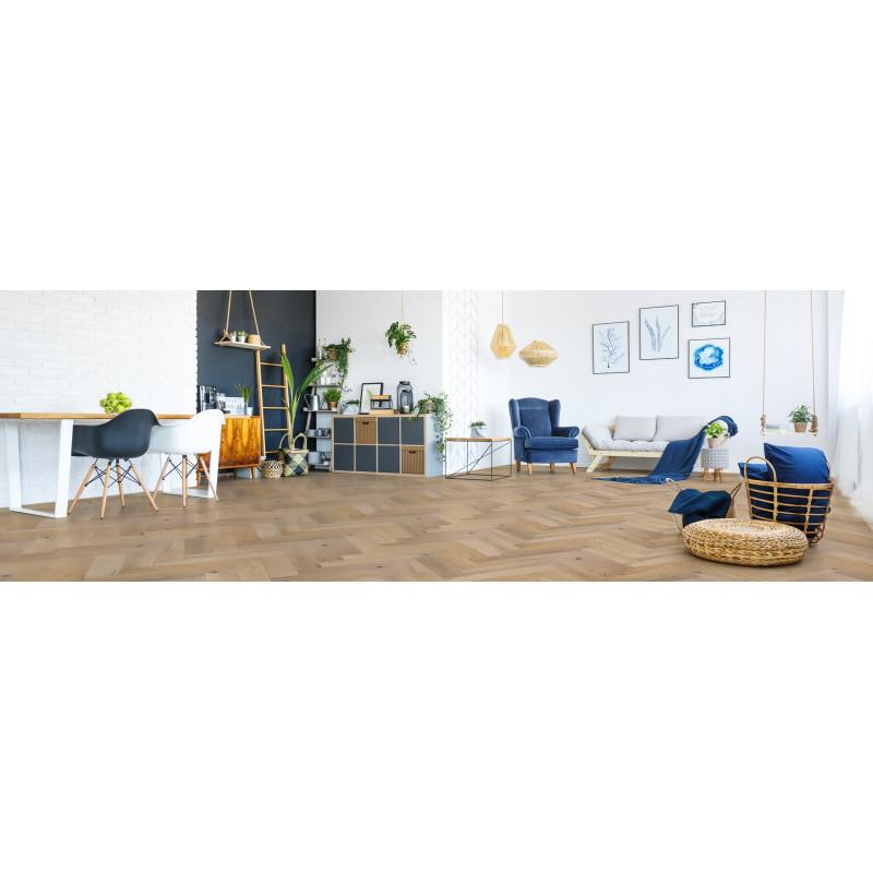 acheter parquet ch ne baton rompu huil coloris naturel. Black Bedroom Furniture Sets. Home Design Ideas
