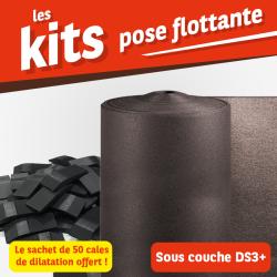 Kit pose flottante - Sous-couche et cales de dilatations
