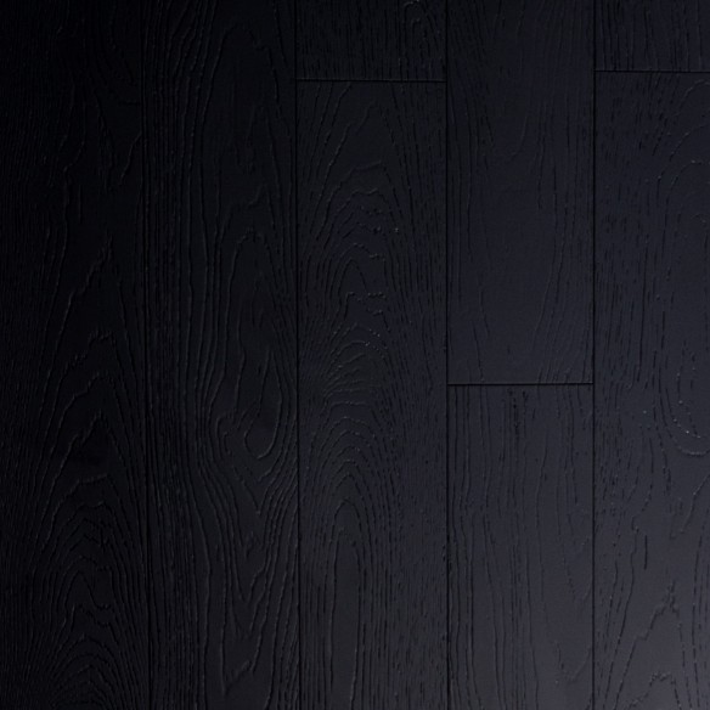 Parquet Bambou façon chêne noir - Largeur 130 - Compatible pièces humides
