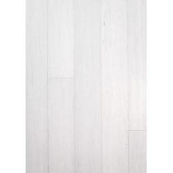 Parquet Massif Bambou Haute Pression - Façon Chêne Blanc Intense - Compatible Pièces Humides - larg. 13 cm