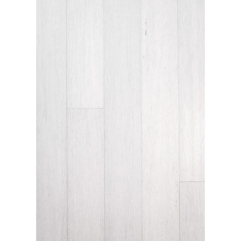Parquet Bambou façon chêne blanc intense - Largeur 130 - Compatible pièces humides