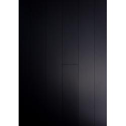 Parquet Massif Bambou Haute Pression - Noir - Compatible Pièces Humides - larg. 13 cm
