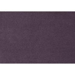 Moquette velours en laine - usage intensif - colorie Prune