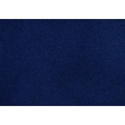 Moquette velours 1er prix à poils ras- Coloris Indigo