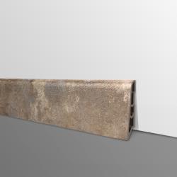 Plinthe PVC- Décor Mastic - Ep.14 x H.60 mm- L.2,5m