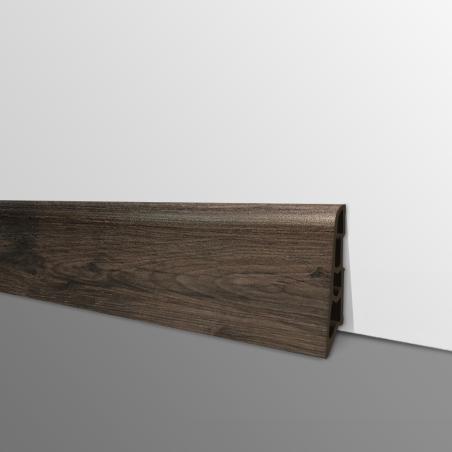 Plinthe PVC- Décor Chêne Tape - Ep.14 x H.60 mm- L.2,5m