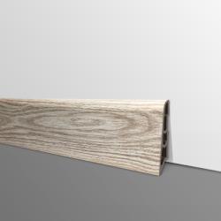 Plinthe PVC- Décor Chêne Original - Ep.14 x H.60 mm- L.2,5m