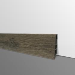 Plinthe PVC- Décor Chêne Rustique- Ep.14 x H.60 mm- L.2,5m