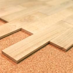 Planchette Chêne brut Grade A 50x250