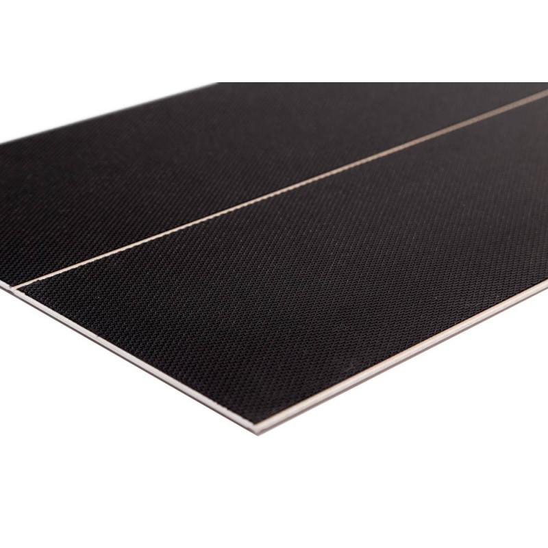 Lame pvc clipsable avec sous couche intégrée Megève chêne gris