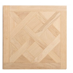 Dalle Marqueterie motif Versailles brut 60x60 cm