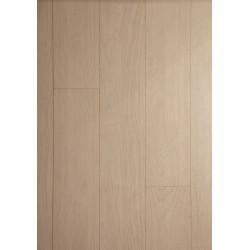 Parquet Massif Bambou - Impression Chêne Neige - Compatible Pièces Humides - larg. 13 cm